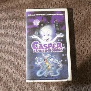 Casper A Spirited Beginning VHS